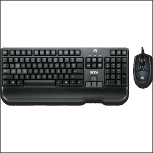 Keyboard Logitech Desktop Gaming G100s w/Mouse USB+PS/2