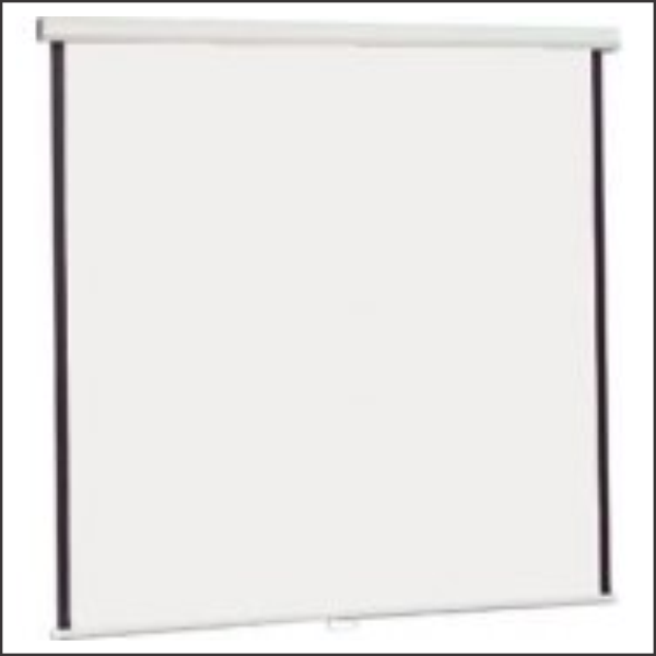 Projection Screen Vega 155×155 Wall mounted