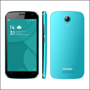 Smartphone 4.5″ DOOGEE X3 Emerald Quad Core 1.3GHz/1GB/8GB/2xSIM/2MP+5MP/A5.1