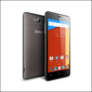 Smartphone 5.0″ HD Gigabyte GSmart Classic Titanium Quad 1.3GHz/1GB/16(8+8)GB/2xSIM/GPS/5MP+8MP/A5.1