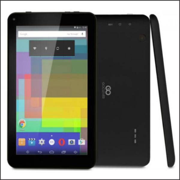 Tablet PC GOCLEVER Quantum 2 700 Lite Quad Core 1.2GHz/8GB/7.0″ 1024×600/BT/2xcam/Black/A5.1