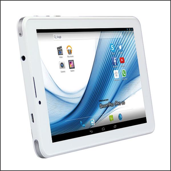 Tablet PC Mediacom Smartpad IPro II 3G Atom x3/1GB/16GB/7″ IPS/3G/GPS/2xCam/White/A5.1