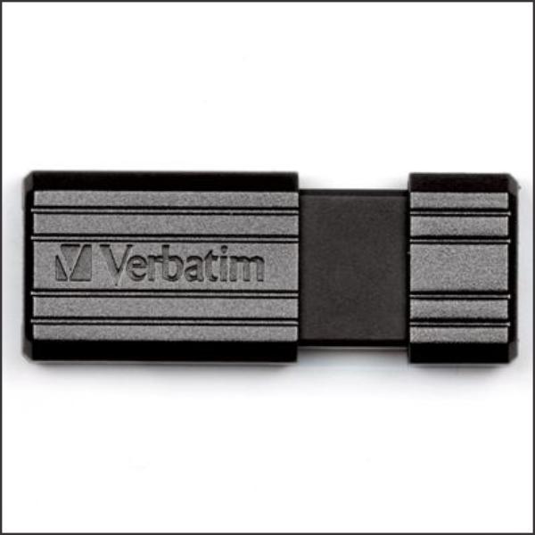 USB Drive 8GB Verbatim Pinstripe Black USB 2.0