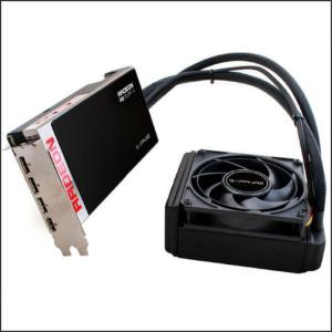 Sapphire AMD PCX Radeon R9 FURY X 4GB HBM HDMI/DPx3 Water cooling DX12