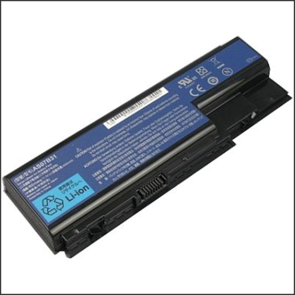 Notebook Battery 6 Cell 5200mAh 10.8V Compatible Acer 5920