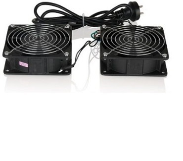 Set of 2 fans w/ Power Cord