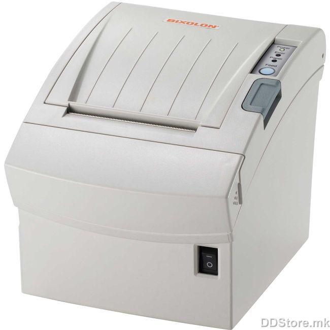 Bixolon SRP-350plusIICOS, Termalni POS pisač, direct thermal, rola 80mm, 250mm u sekundi, automatski rezač papira, serijski, USB, bijeli