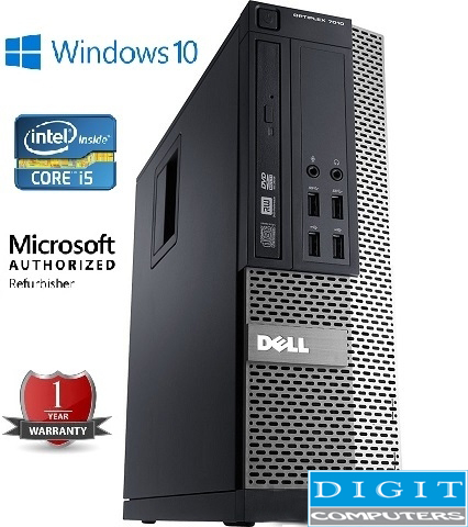 Dell Optiplex 990 SFF – Intel® Core™ i5-2400/4GB DDR3/320GB HDD/DVD-RW/Win10