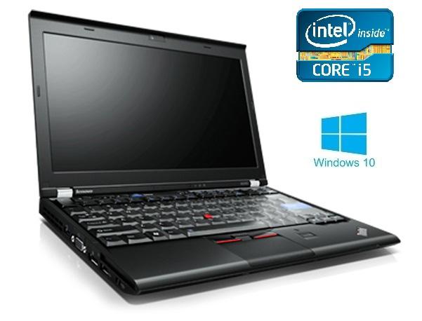 Lenovo ThinkPad X220 12.5″ Intel® Core™i5-2450M/4GB DDR3/320 GB HDD/Win10