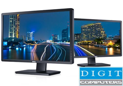 Monitor DELL Professional P2412H 24″ А Class 1920×1080 Full HD 16:9 Black TCO 5.0 USB Hub, VGA, DVI