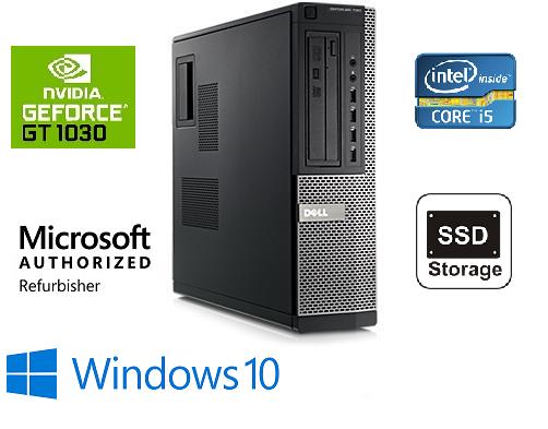 DELL OptiPlex 790 Intel Core i5 2400/16GB RAM /180GB SSD + 250 GB HDD/VGA NEW GEFORCE 1030 /Win10Pro