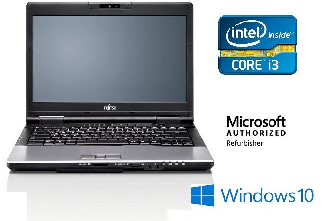 Fujitsu LifeBook S752 14″ Intel Core i3 3120M/4GB DDR3 /320 GB HDD/Docking station /Win10